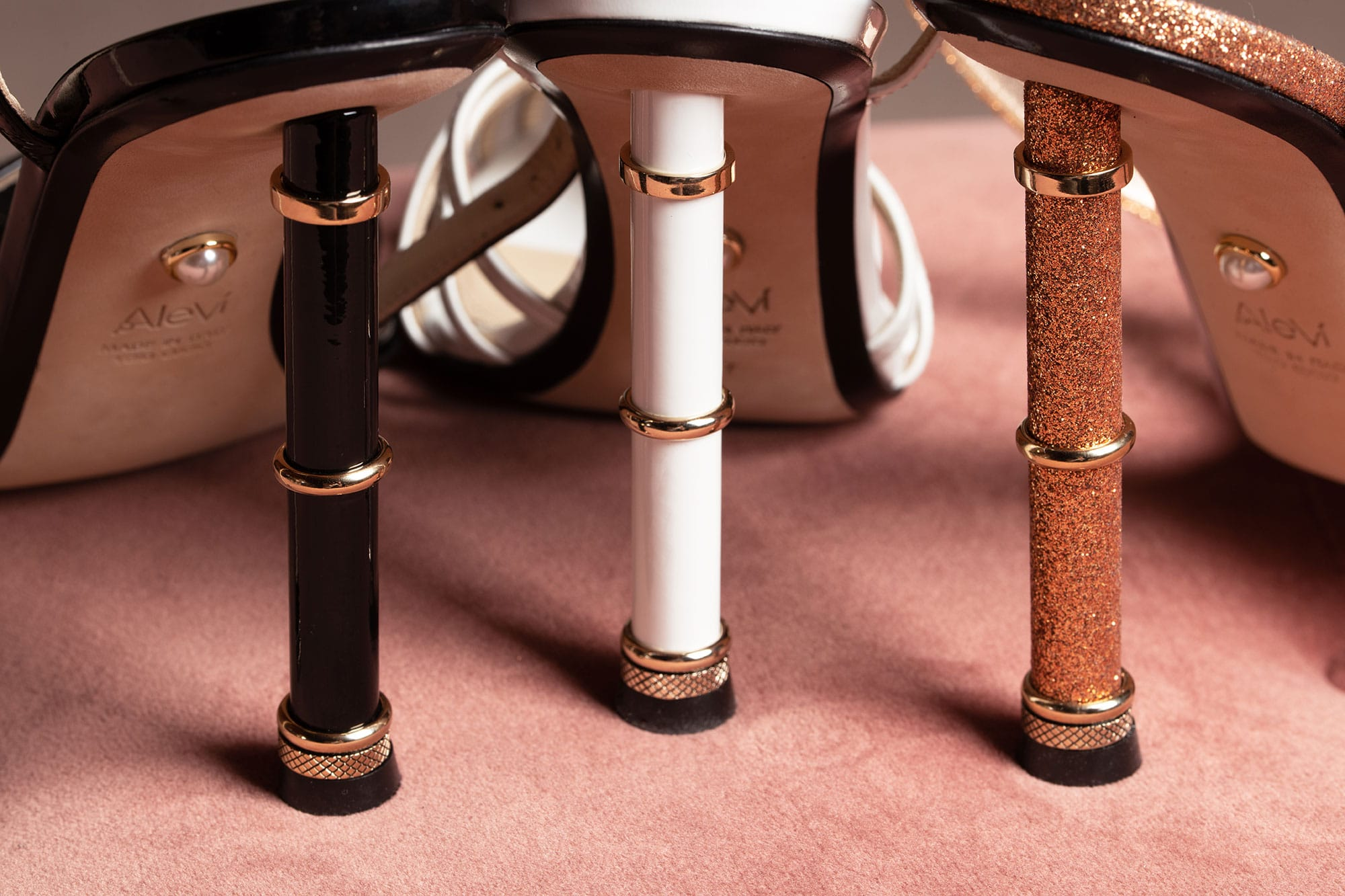 new three rings heel