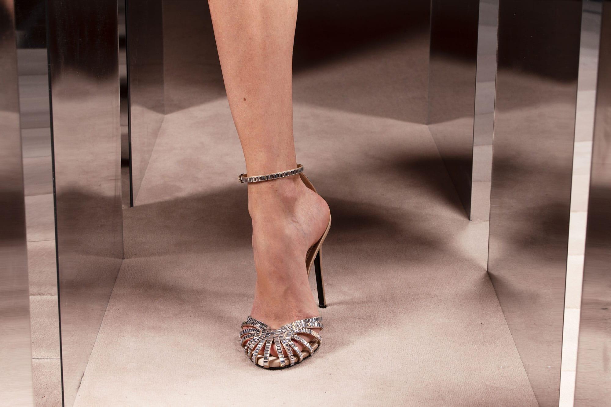 Summer 2021 sandals with Swarovski gems